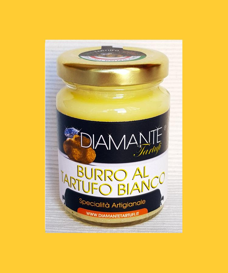 BURRO AL TARTUFO BIANCO 80 Gr - White Truffle Butter 2,82 Oz (Naturale e Genuino) Made in Italy
