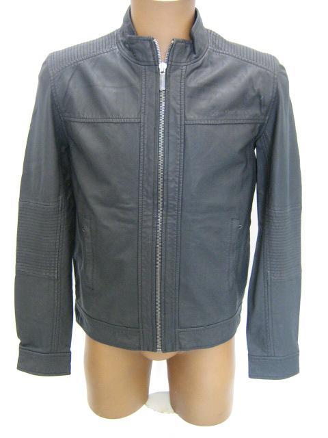 official photos 06f00 f4ba3 Abbigliamento Uomo: GIUBBOTTO PELLE CALVIN KLEIN colore 991 ...